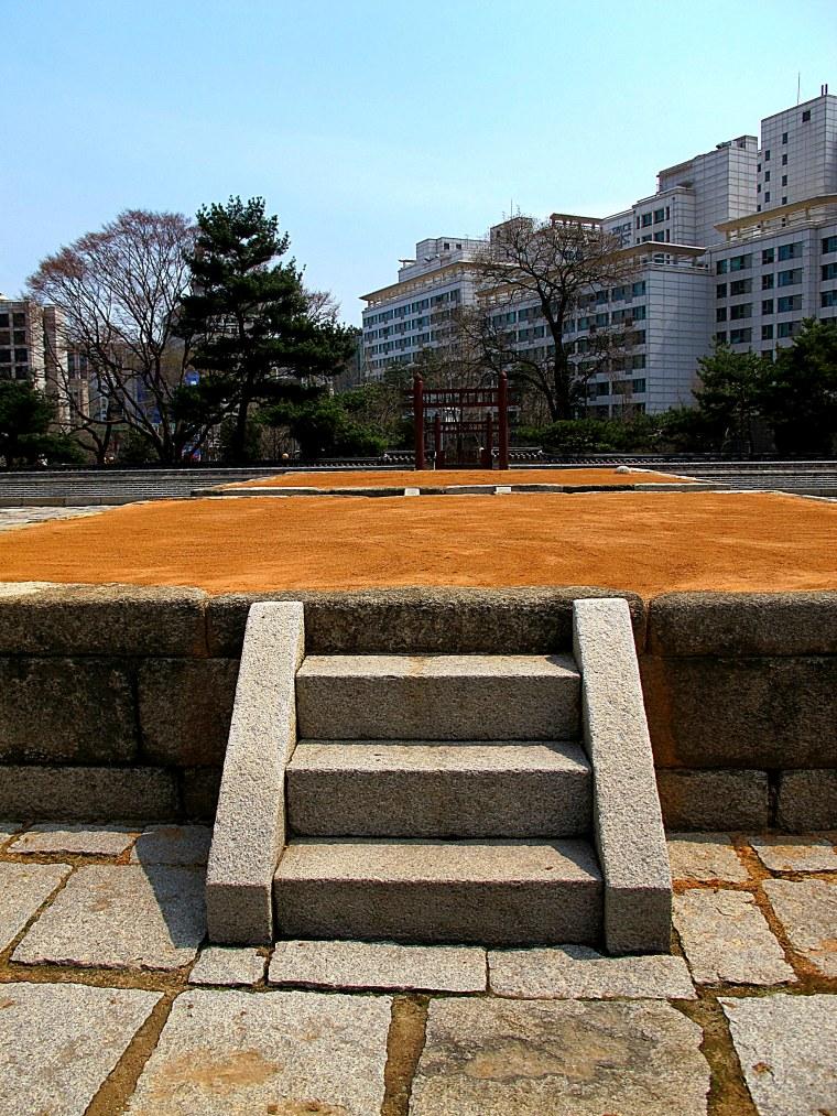 Sajik Park altar