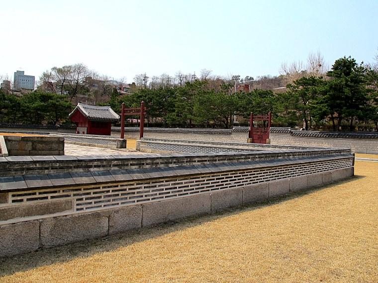 Sajik Park grounds