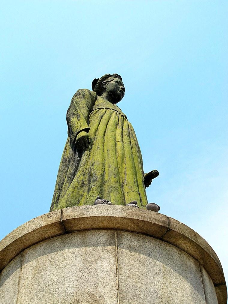 Sajik Park Statue of Sin Saimdang