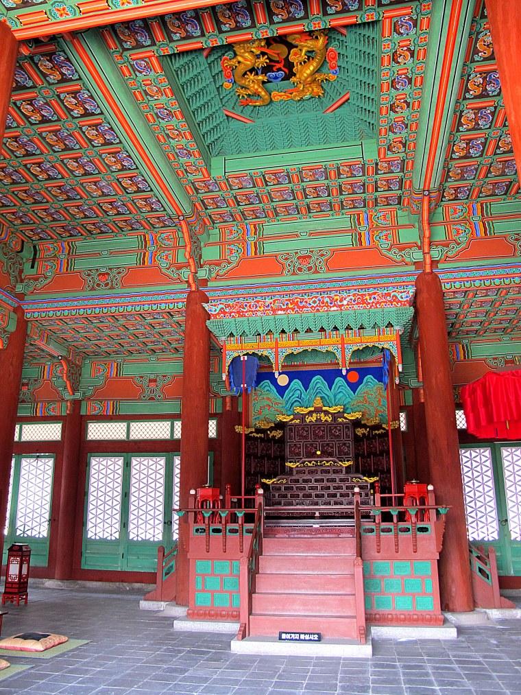 Gyeonghuigung Palace Throne