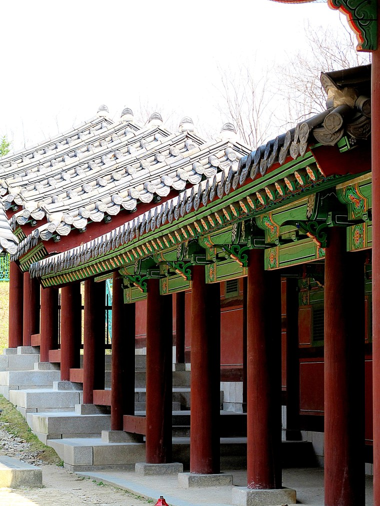 Gyeonghuigung Palace Corridor