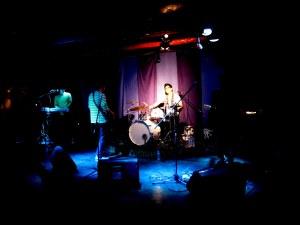 Seoul, Korea: Every Single Day, Drummer Hyo-yung Kim. Korean indie musicians live in concert at Club Ta in Hongdae, Seoul, Korea