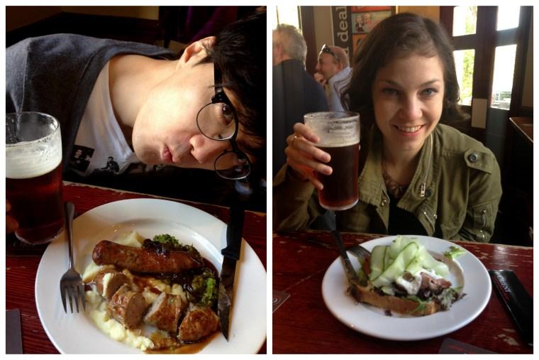 Sydney, Australia: The Orient Hotel Lunch