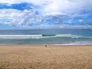 Hallie on a Wollongong Beach, Australia