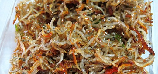 Korean Cooking: Anchovies Side Dish, Food