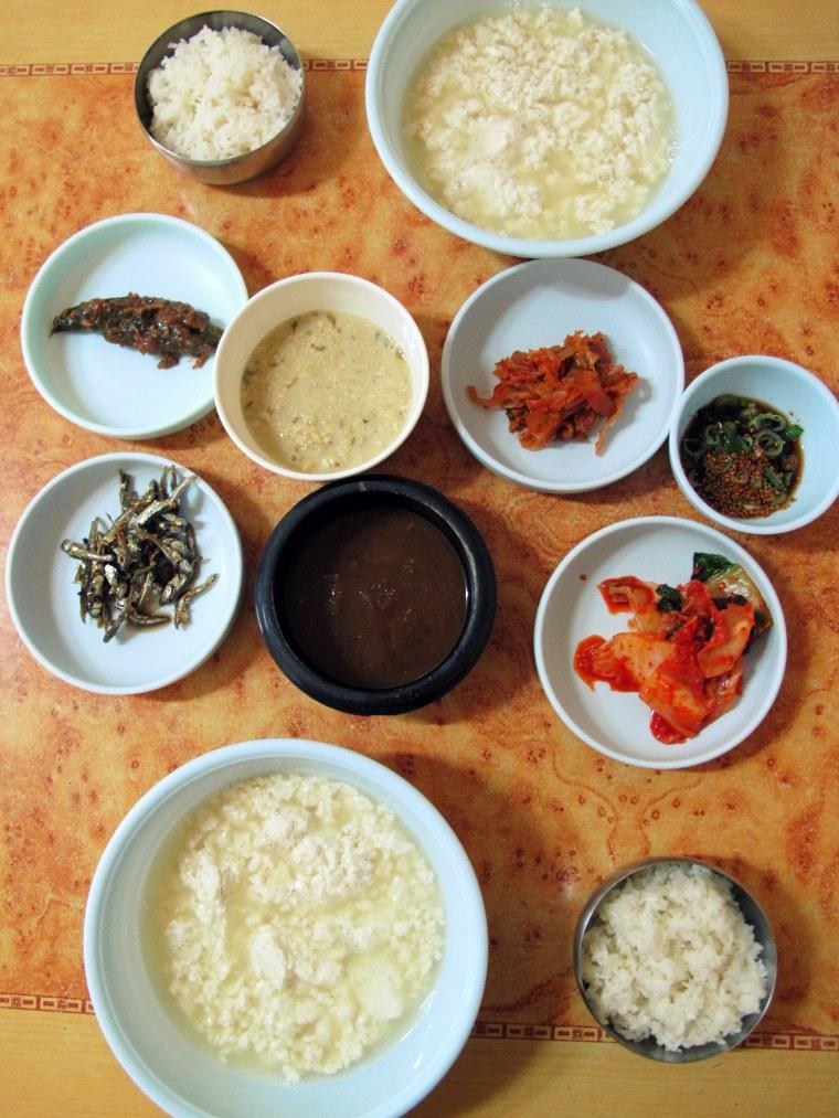 Gangneung, Korea: Chodang Tofu, Saltwater Tofu, Food
