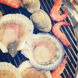 Gangneung, Korea: Gyeongpo Beach Dinner, Shellfish & Shrimp