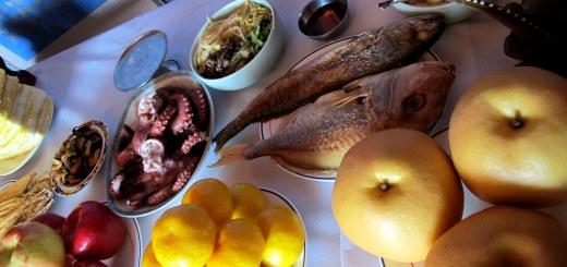 Busan, Korea: Seollal, Lunar New Year, Charye Ceremony, Jesa Table Setting