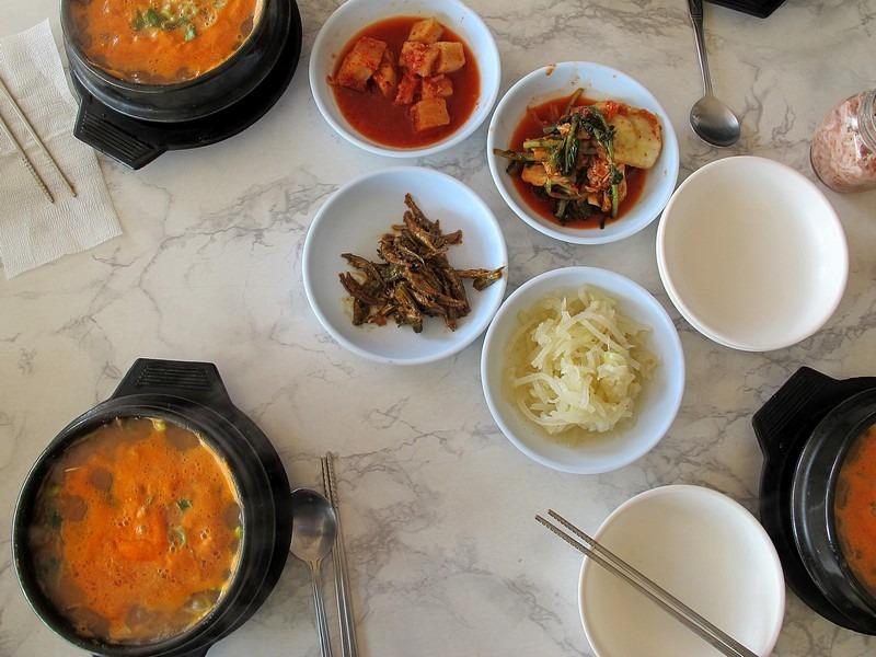 Korean bean sprout soup