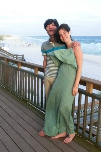 Seagrove, Florida with the family, Hallie & Jae-oo