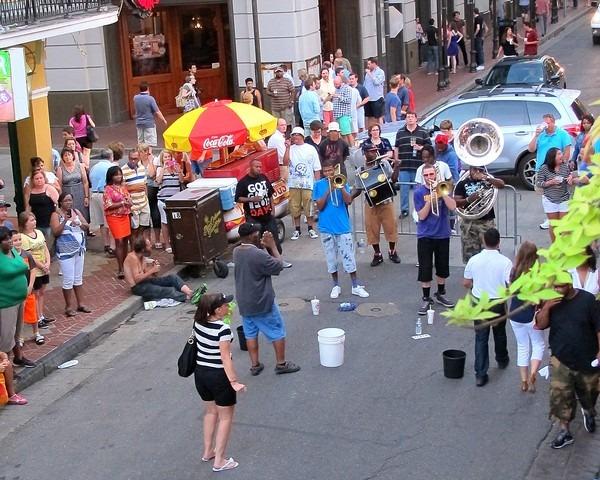 French Quarter, New Orleans, Louisiana: Bourbon Street