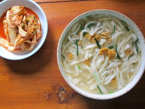 Jeju, Korea: Kalguksu, Korean Soup