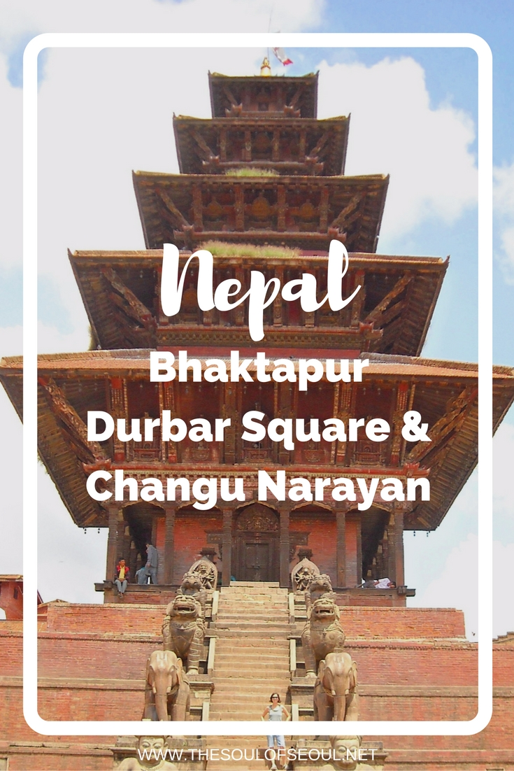 Bhaktapur, Nepal: Durbar Square & Changu Narayan. Two girls take on Nepal: After chai we decided to get a bus up to Changu Narayan. The bus wove up and around a mountain on a narrow street. The bus had to back up a few times and work around other buses, too. Female travelers abroad. Expat travel as females in Nepal.