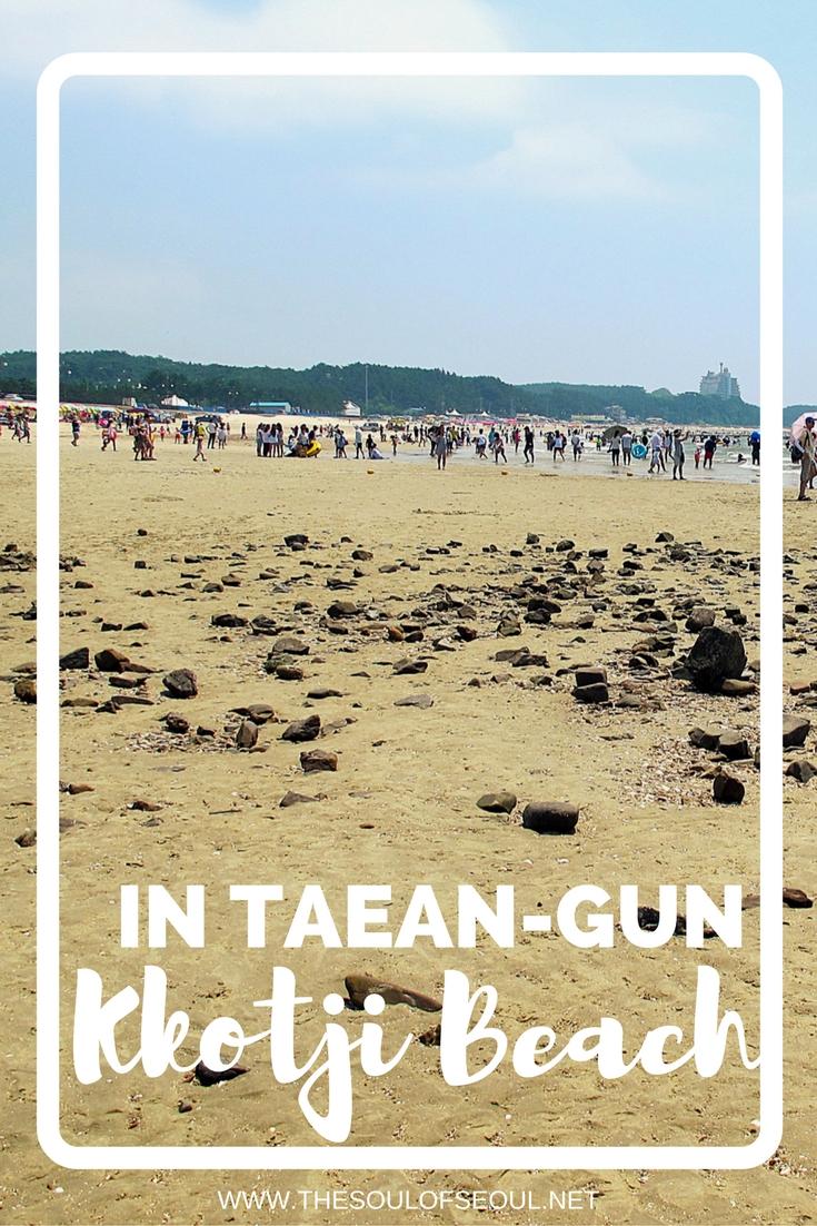 In Taean-gun, Korea Kkotji Beach