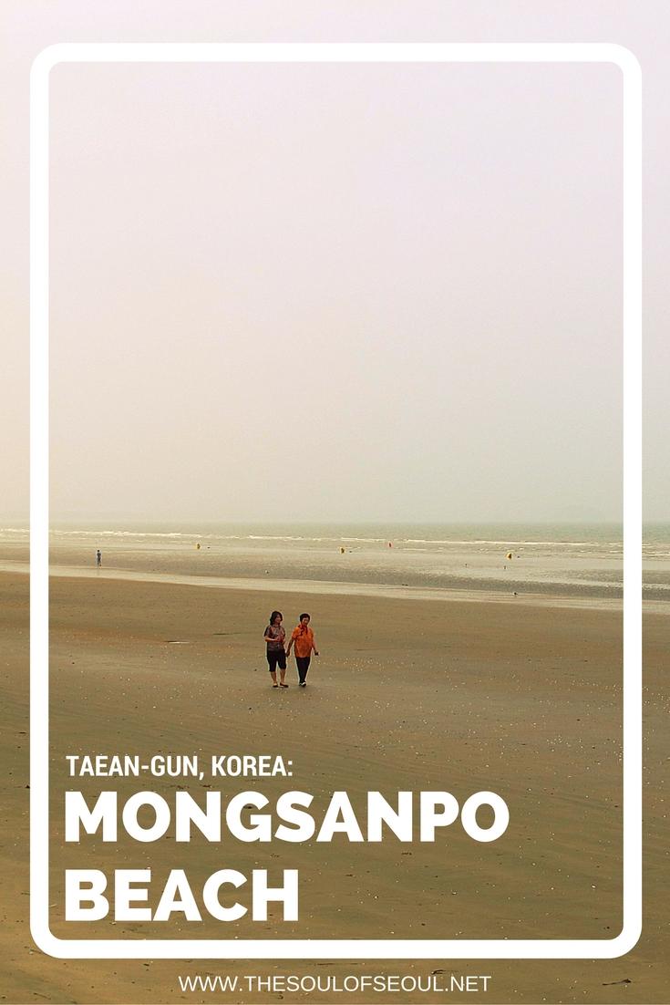 Mongsanpo Beach, Taean-gun, Korea