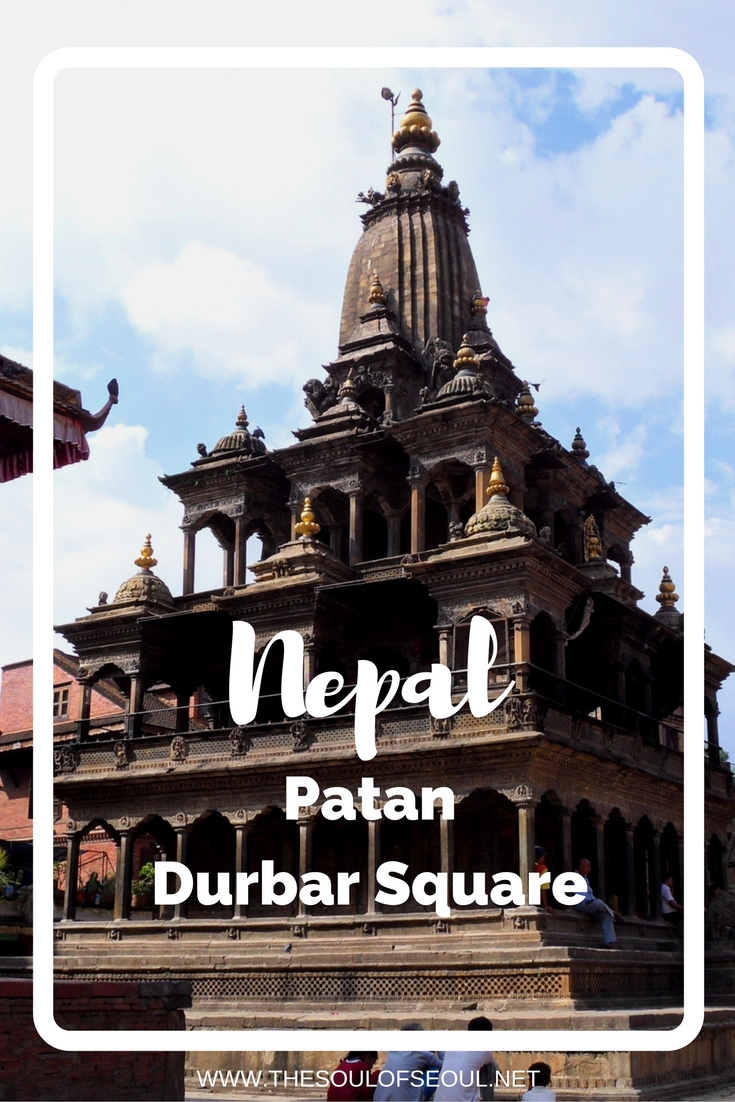 Patan, Nepal: Durbar Square: Two girls take on Nepal: We saw Krishna Mandir [which was] built in the 17th century by King Siddhi Narsingh Malla. It's the only temple in Nepal with 21 pinnacles. Must see. Female travel bloggers. Travel to Nepal.