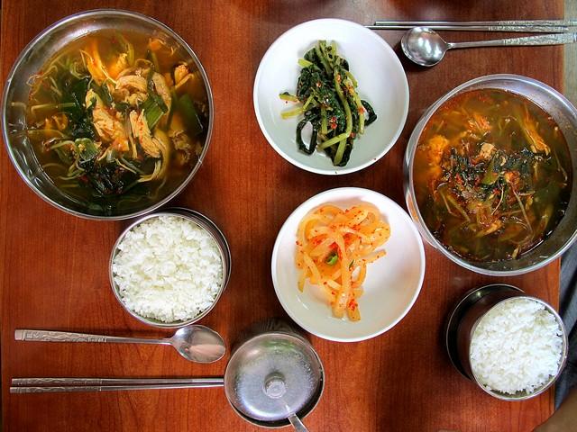 Korean Food: Dakgaejang, Spicy Chicken Soup