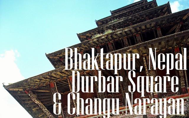 Bhaktapur, Nepal: Durbar Square