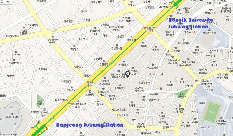 Map to Nagomi