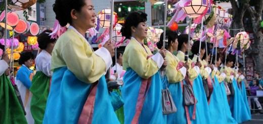 Lotus Lantern Parade, Seoul, Korea 2016