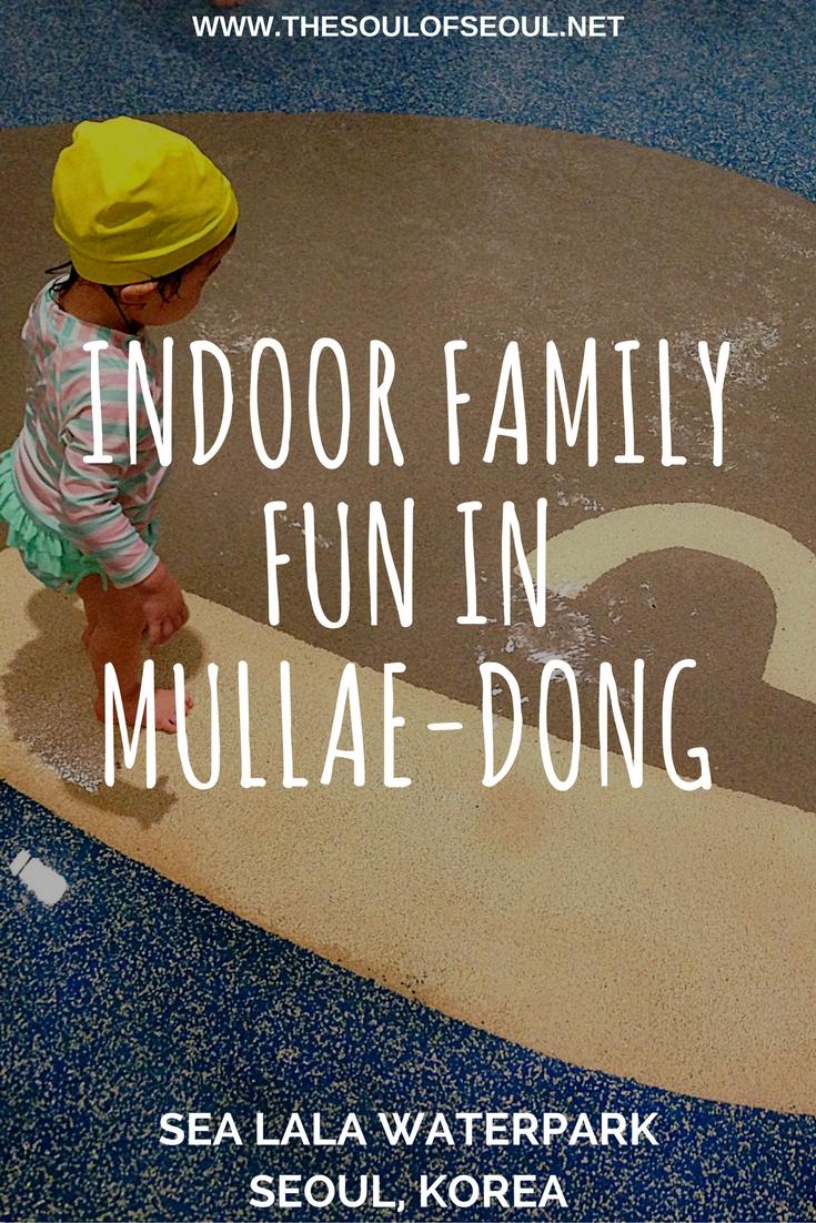 Indoor Family Fun in Mullae-dong, Sea Lala Waterpark, Seoul, Korea