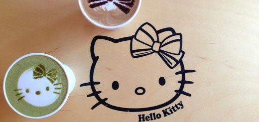 Hongdae, Seoul, Korea: Hello Kitty Cafe