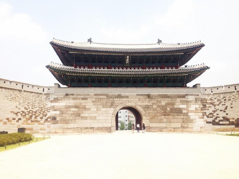Seoul Fortress Wall, Sungnyemun Gate/ Namdaemun Gate, Seoul, Korea