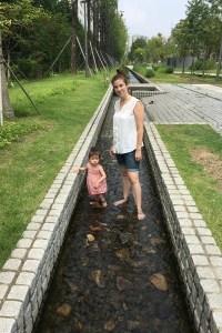 Gyeongui Line Forest Park, Yeonnam-dong, Hongdae, Seoul, Korea