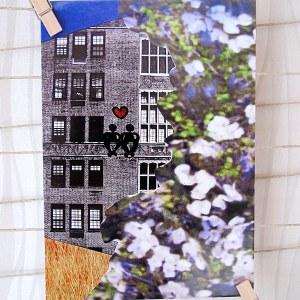 A City Of Love Postcard