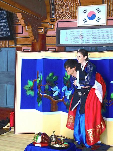Korean Wedding Ceremony: Paebaek