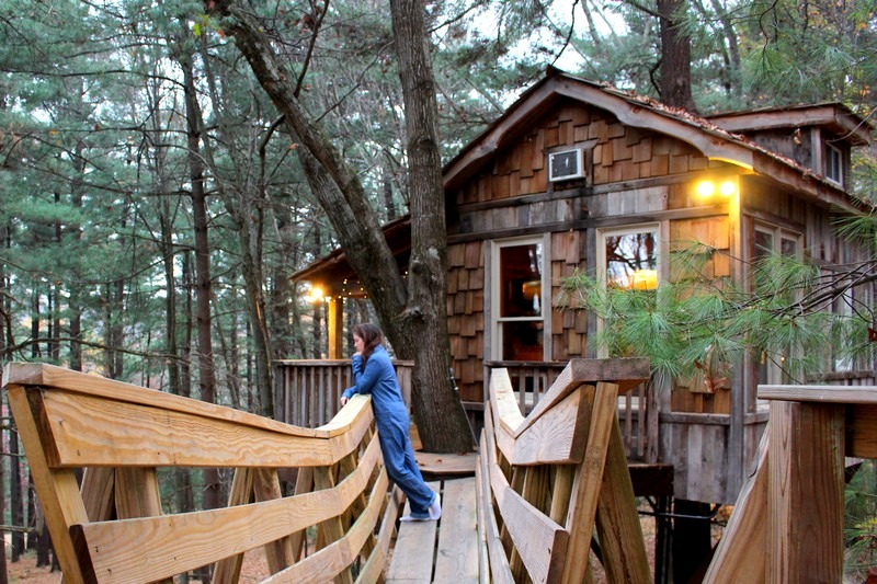 Sleeping In The Trees Luxury Treehouses For The Child In