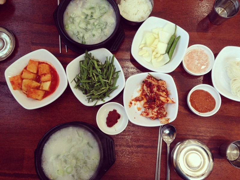 Korean Eating: Dwaejiguk-bap, Pork Stew