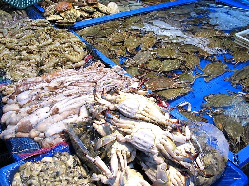 Mapo Agricultural & Marine Products Market, Seongsan-dong, Mapo-gu, Seoul, Korea