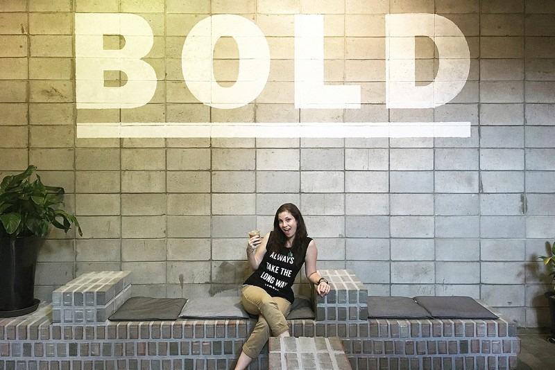 Bold Coffee, Hapjeong, Seoul, Korea