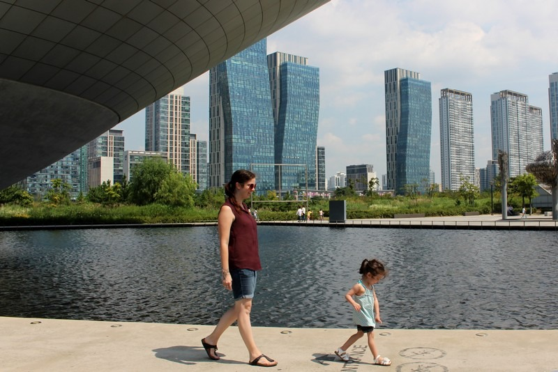 Tribowl, Songdo Central Park, Incheon, Korea