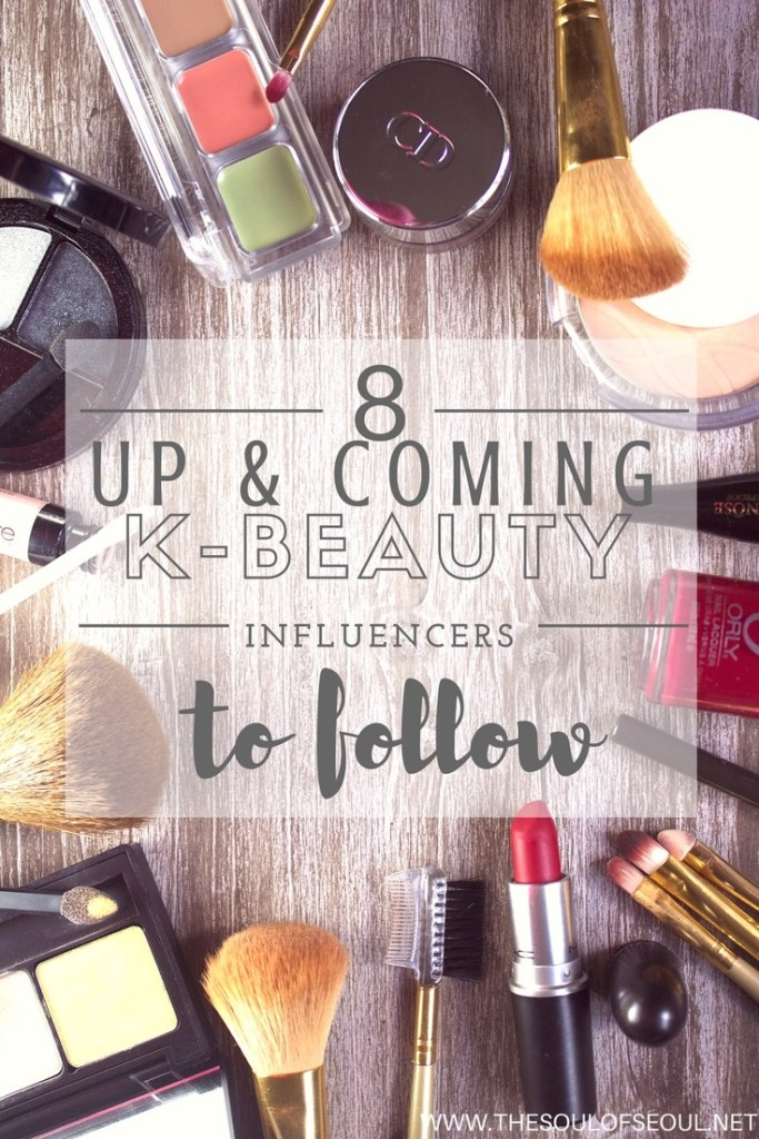 8 Up & Coming K-Beauty Influencers To Follow: K-Beauty products are all the rage but there are a TON and so many companies to follow. To get the low down on what's good, great and not worth the buck, check out these 8 up and coming K-Beauty influencers.