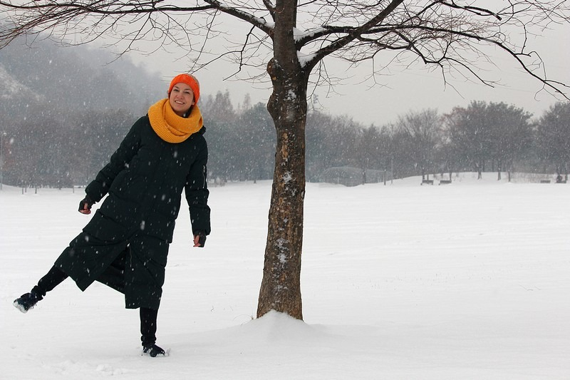 Snow In Seoul, Nanji Stream Park, World Cup Parks, Seoul, Korea: Hallie Bradley