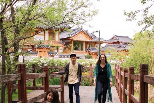 Eunpyeong Hanok Village, Seoul, Korea