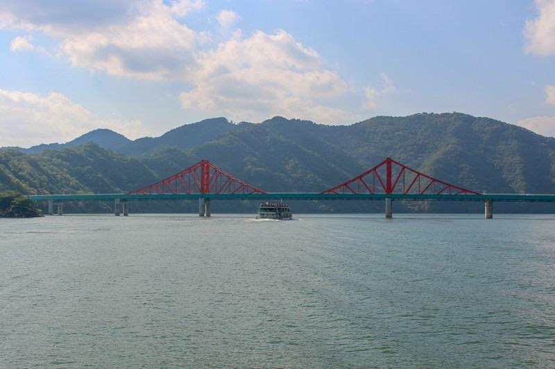 Chungjuho Lake, Danyang, Korea