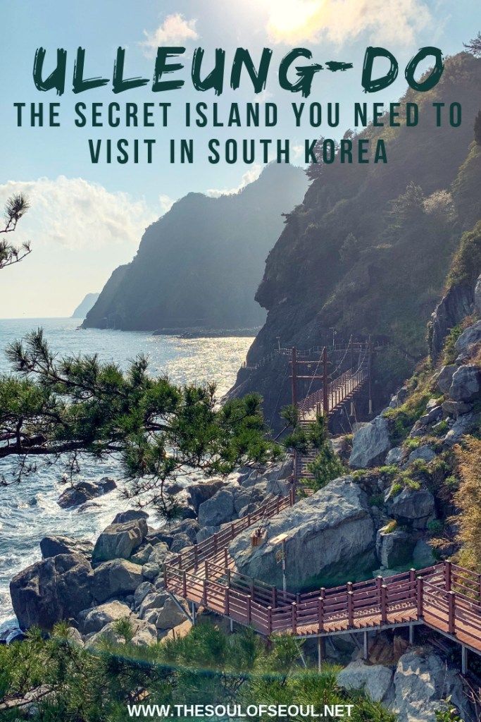 Ulleung-do: The Secret Island You NEED To Visit In South Korea: Ulleung-do is a remote island in South Korea that is difficult to get to but a MUST SEE! Gorgeous karsts, flower fields, and green valleys. It's a trek that only the most adventurous take and it is worth it. Don't miss this in Korea.