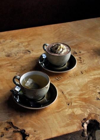 Mocha and Green Tea, Geysir Visitor Centre © Jessica Gatfield