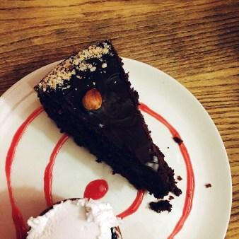 Vegan Nut Chocolate Cake