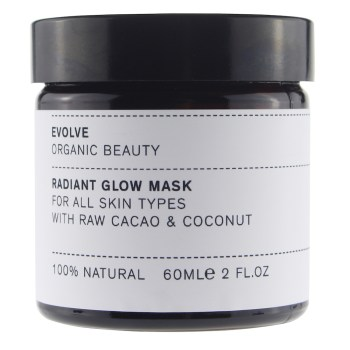 Evolve Cacao & Coconut Radiant Glow Mask