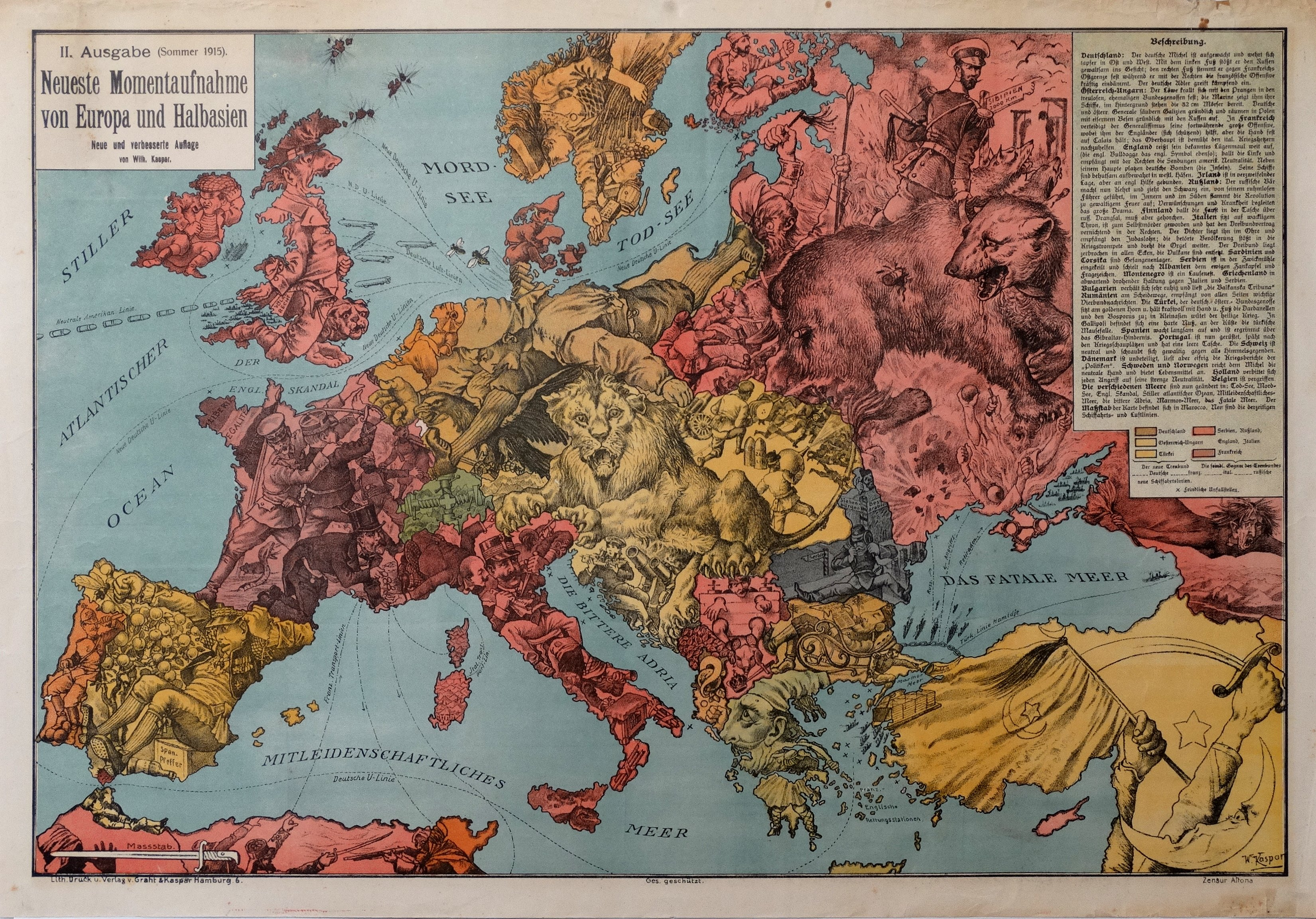 Map Of The Day Europe From Germany S Perspective One Year