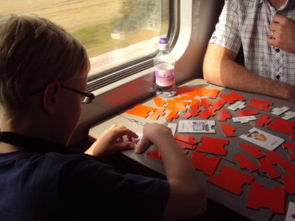 games on the train