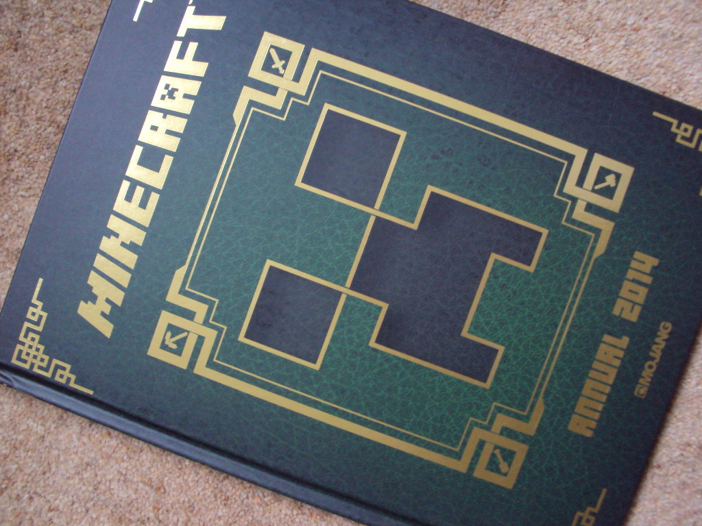 The Minecraft Annual 2014 from Egmont