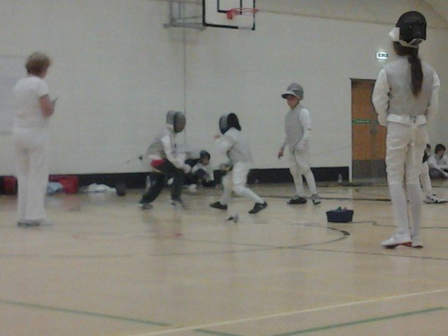 Just what we need for Fencing practice!