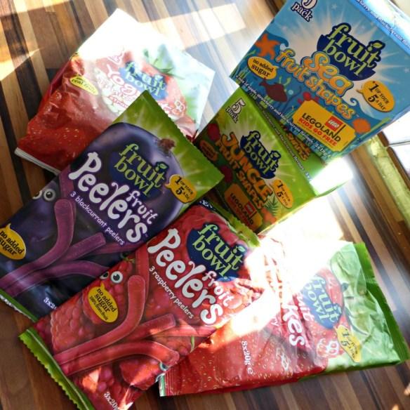 fruit bowl snacks