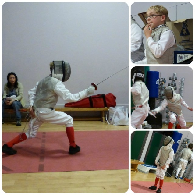 fencing poule two
