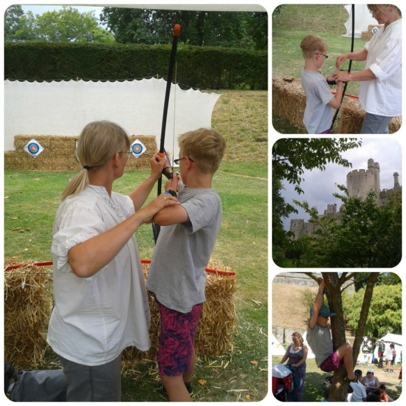 archery at arundel castle
